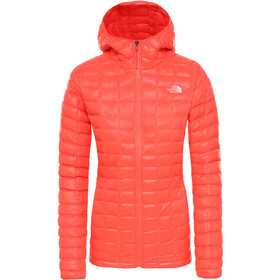 The North Face Eco ThermoBall Chaqueta con capucha Mujer, radiant orange
